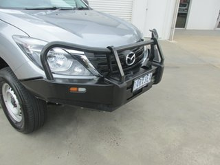 2019 Mazda BT-50 UR0YG1 XT Freestyle Silver 6 Speed Sports Automatic Cab Chassis