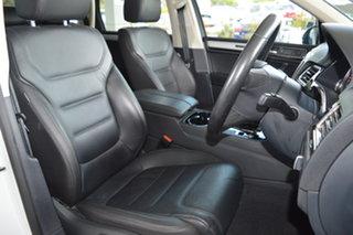 2017 Volkswagen Touareg 7P MY17 V6 TDI Tiptronic 4MOTION Adventure White 8 Speed Sports Automatic