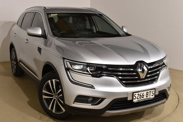 Used Renault Koleos HZG Intens X-tronic Nailsworth, 2017 Renault Koleos HZG Intens X-tronic Silver 1 Speed Constant Variable Wagon