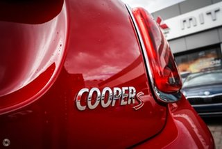 2018 Mini Hatch F55 Cooper S Red 6 Speed Sports Automatic Hatchback