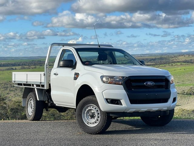 Used Ford Ranger PX MkII XL Clare, 2017 Ford Ranger PX MkII XL White 6 Speed Manual Cab Chassis