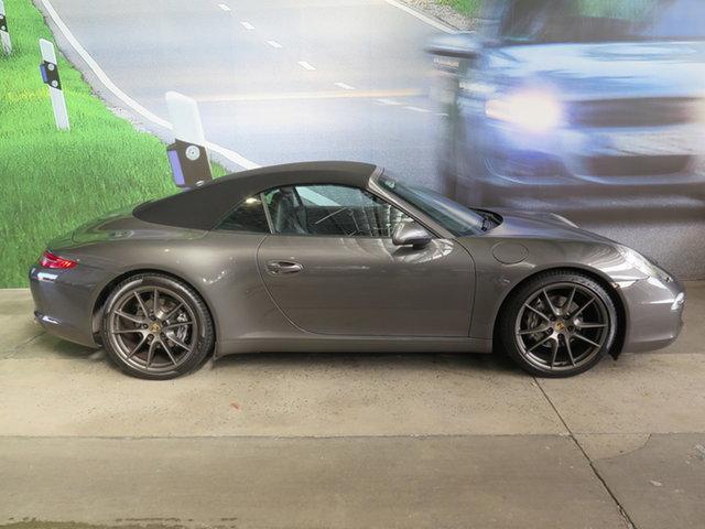 Used Porsche 911 991 Carrera 4 PDK AWD Osborne Park, 2014 Porsche 911 991 Carrera 4 PDK AWD Agate Grey 7 Speed Sports Automatic Dual Clutch Cabriolet