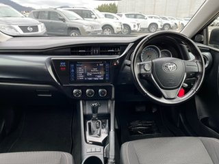 2015 Toyota Corolla ZRE182R Ascent Sport S-CVT Black 7 Speed Constant Variable Hatchback