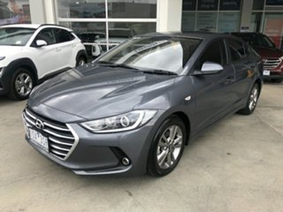 2018 Hyundai Elantra AD MY18 Active Grey 6 Speed Sports Automatic Sedan.