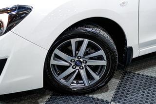 2016 Subaru Impreza G4 MY16 2.0i Lineartronic AWD Premium White 6 Speed Constant Variable Sedan