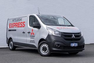 2020 Mitsubishi Express SN MY21 GLX LWB DCT Silver 6 Speed Sports Automatic Dual Clutch Van.