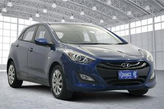 2014 Hyundai i30 GD2 Active Dazzling Blue 6 Speed Sports Automatic Hatchback.