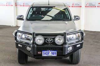 2018 Toyota Hilux GUN126R MY19 SR5+ (4x4) Silver Sky 6 Speed Automatic Double Cab Pick Up
