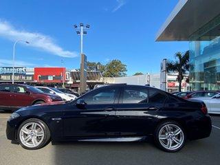 2015 BMW 5 Series F10 LCI 520d Steptronic M Sport Carbon Black Metallic 8 Speed Sports Automatic