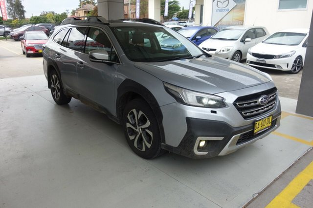 Used Subaru Outback B7A MY21 AWD Touring CVT East Maitland, 2021 Subaru Outback B7A MY21 AWD Touring CVT Silver, Chrome 8 Speed Constant Variable Wagon