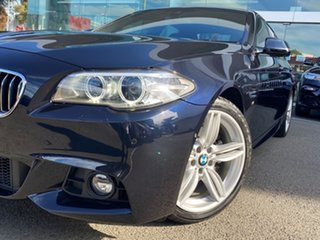 2015 BMW 5 Series F10 LCI 520d Steptronic M Sport Carbon Black Metallic 8 Speed Sports Automatic.