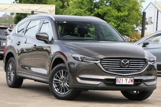 2018 Mazda CX-8 KG2W2A Sport SKYACTIV-Drive FWD Titanium Flash 6 Speed Sports Automatic Wagon.