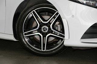 2019 Mercedes-Benz A-Class V177 A180 DCT White 7 Speed Sports Automatic Dual Clutch Sedan.