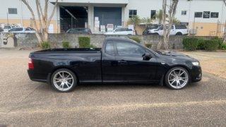 2010 Ford Falcon FG Upgrade XR6T Black 6 Speed Auto Seq Sportshift Utility.
