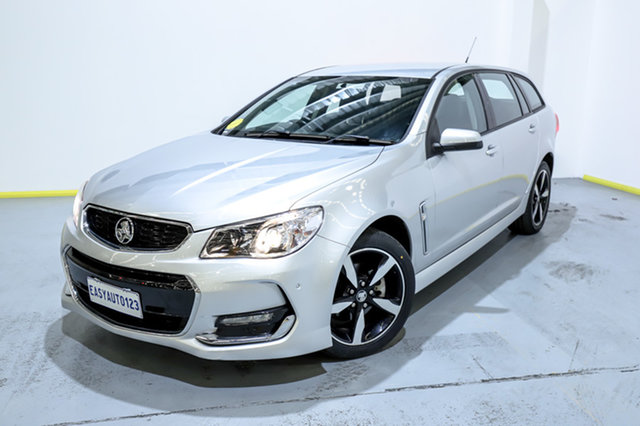 Used Holden Commodore VF II MY17 SV6 Sportwagon Canning Vale, 2017 Holden Commodore VF II MY17 SV6 Sportwagon Silver 6 Speed Sports Automatic Wagon
