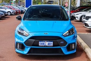 2017 Ford Focus LZ RS AWD Limited Edition Blue 6 Speed Manual Hatchback.
