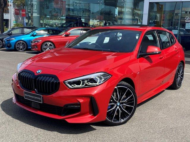 Used BMW 118i F40 M Sport Brookvale, 2020 BMW 118i F40 M Sport Melbourne Red 7 Speed Auto Dual Clutch Hatchback