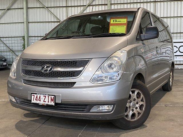 Used Hyundai iMAX TQ-W Rocklea, 2010 Hyundai iMAX TQ-W Silver 4 Speed Automatic Wagon