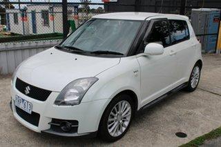 2008 Suzuki Swift RS416 Sport White 5 Speed Manual Hatchback.