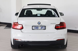 2014 BMW 2 Series F22 220i M Sport White 8 Speed Sports Automatic Coupe