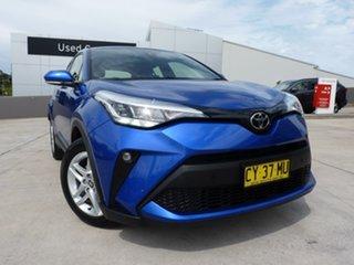 2020 Toyota C-HR NGX10R S-CVT 2WD Nebula Blue 7 Speed Constant Variable Wagon.