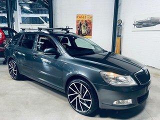 2009 Skoda Octavia 1Z MY10 DSG Grey 7 Speed Sports Automatic Dual Clutch Wagon