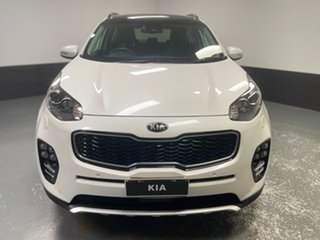 2017 Kia Sportage QL MY17 GT-Line AWD White 6 Speed Sports Automatic Wagon.