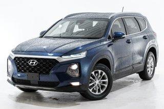2018 Hyundai Santa Fe TM MY19 Active Grey 6 Speed Sports Automatic Wagon.