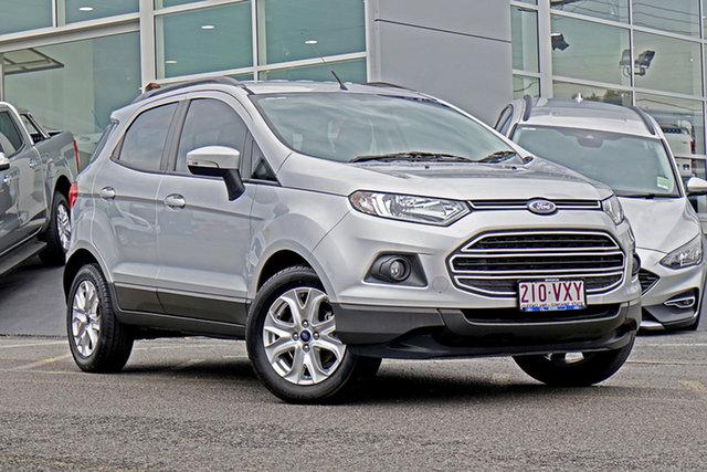 Used Ford Ecosport BK Trend PwrShift Springwood, 2015 Ford Ecosport BK Trend PwrShift Silver 6 Speed Sports Automatic Dual Clutch Wagon