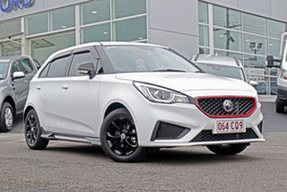 2019 MG MG3 SZP1 MY18 Core White 4 Speed Automatic Hatchback.