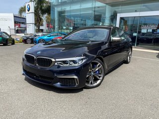 2020 BMW M550i G30 xDrive Carbon Black Metallic 8 Speed Auto Steptronic Sport Sedan.