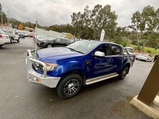 2014 Ford Ranger PX XLS Double Cab Blue 6 Speed Manual Utility