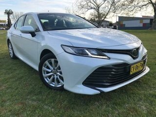 2019 Toyota Camry Camry Ascent 2.5L Petrol Automatic Sedan Frosted White Automatic Sedan.