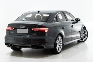 2019 Audi A3 8V MY19 40 TFSI S Tronic Quattro Grey 7 Speed Sports Automatic Dual Clutch Sedan.