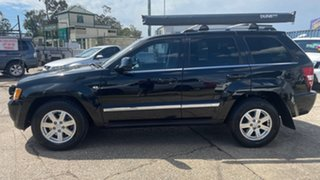 2010 Jeep Grand Cherokee WH MY08 Limited (4x4) Black 5 Speed Automatic Wagon