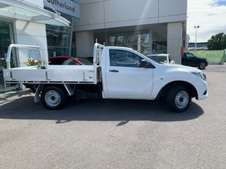 2015 Mazda BT-50 UR0YD1 XT 4x2 White 6 Speed Manual Cab Chassis