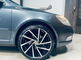 2009 Skoda Octavia 1Z MY10 DSG Grey 7 Speed Sports Automatic Dual Clutch Wagon.