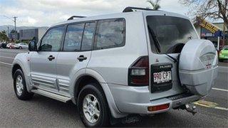 2003 Mitsubishi Pajero NP GLS Silver 5 Speed Sports Automatic Wagon.