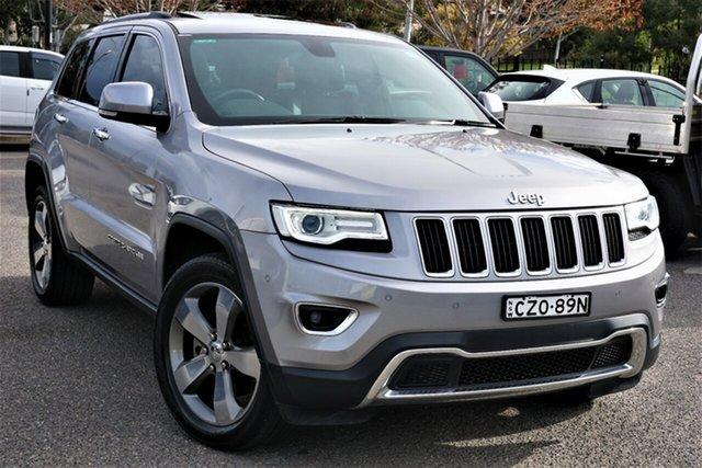 Used Jeep Grand Cherokee WK MY2014 Limited Phillip, 2014 Jeep Grand Cherokee WK MY2014 Limited Grey 8 Speed Sports Automatic Wagon