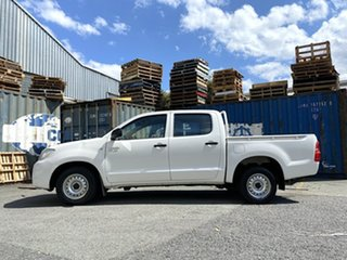 2011 Toyota Hilux GGN15R MY10 SR 4x2 White 5 Speed Automatic Utility