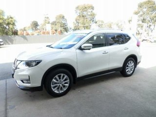 2017 Nissan X-Trail T32 Series 2 ST-L 7 Seat (2WD) Ivory Pearl Continuous Variable Wagon.