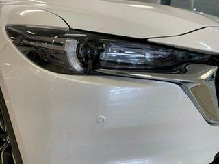 2021 Mazda CX-5 KF4WLA GT SKYACTIV-Drive i-ACTIV AWD White 6 Speed Sports Automatic Wagon.