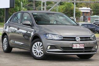 2019 Volkswagen Polo AW MY19 70TSI DSG Trendline Grey 7 Speed Sports Automatic Dual Clutch Hatchback.