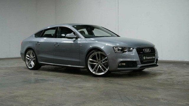 Used Audi A5 8T MY16 S Line Plus Sportback S Tronic Quattro Welshpool, 2016 Audi A5 8T MY16 S Line Plus Sportback S Tronic Quattro Grey 7 Speed