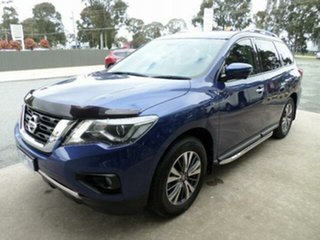 2017 Nissan Pathfinder R52 MY17 Series 2 ST-L (4x2) Caspian Blue Continuous Variable Wagon
