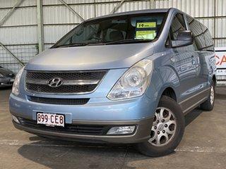 2010 Hyundai iMAX TQ-W Blue 4 Speed Automatic Wagon.