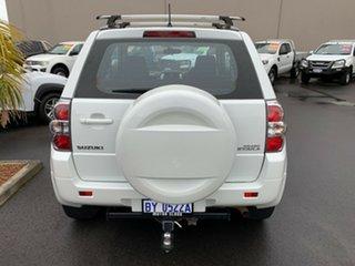 2015 Suzuki Grand Vitara JB Navigator White 4 Speed Automatic Hardtop.