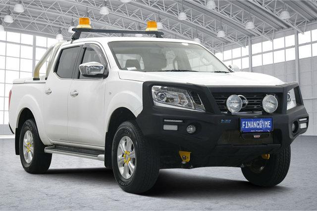 Used Nissan Navara D23 ST Victoria Park, 2015 Nissan Navara D23 ST White 7 Speed Sports Automatic Utility