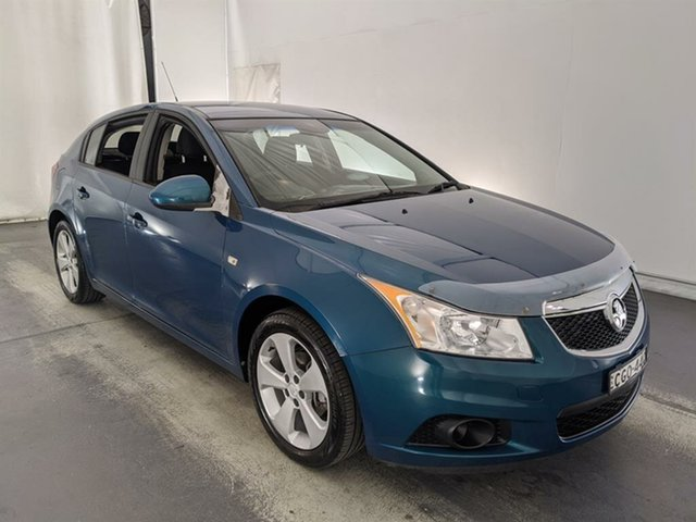 Used Holden Cruze JH Series II MY12 CD Maryville, 2012 Holden Cruze JH Series II MY12 CD Green 5 Speed Manual Hatchback