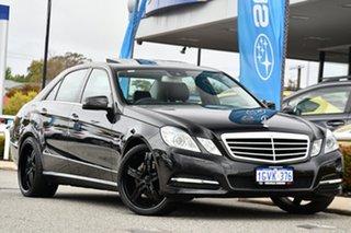 2010 Mercedes-Benz E-Class W212 E250 CGI Avantgarde Black 5 Speed Sports Automatic Sedan.